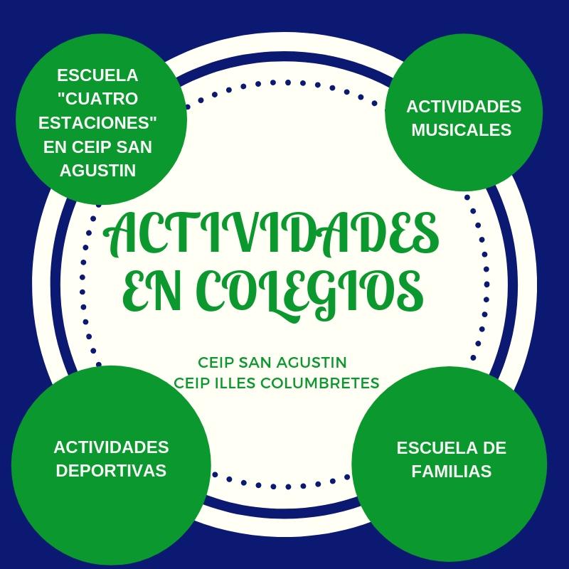 ACTIVIDADES EN COLEGIOS